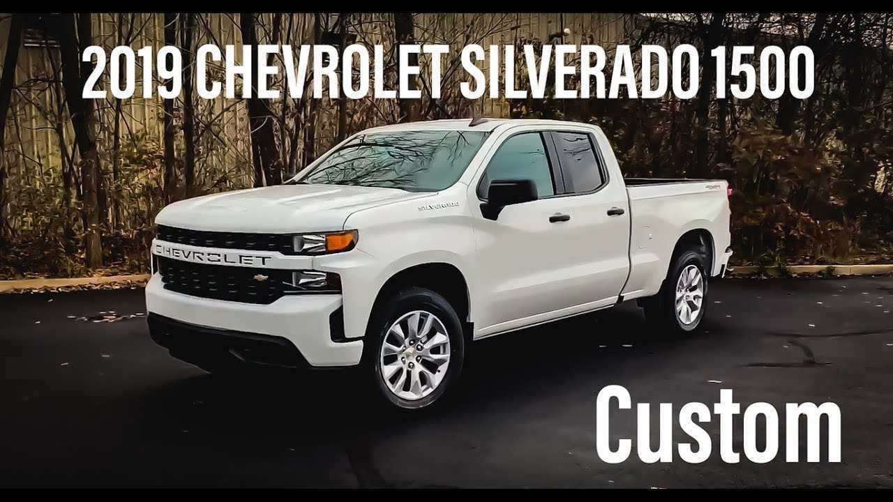 28 All New 2019 Chevrolet Silverado 1500 Review Redesign And Review