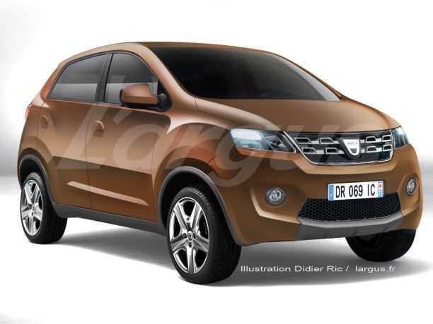 28 All New Futur Dacia 2020 Spy Shoot