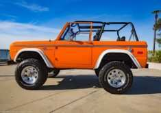 2020 Orange Ford Bronco