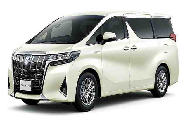 29 All New Toyota Vellfire 2020 Images