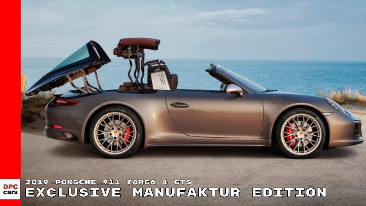 29 New 2019 Porsche Targa Gts Specs And Review