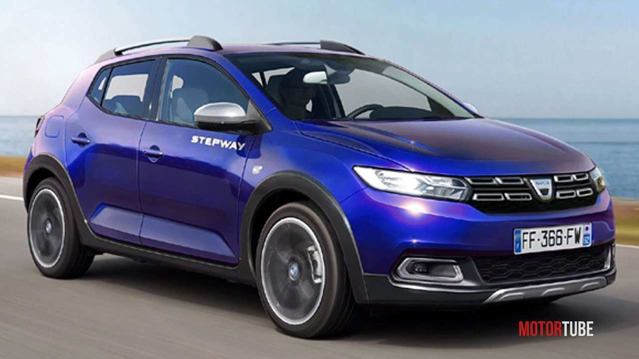 30 A Dacia Sandero 2019 Spy Shoot