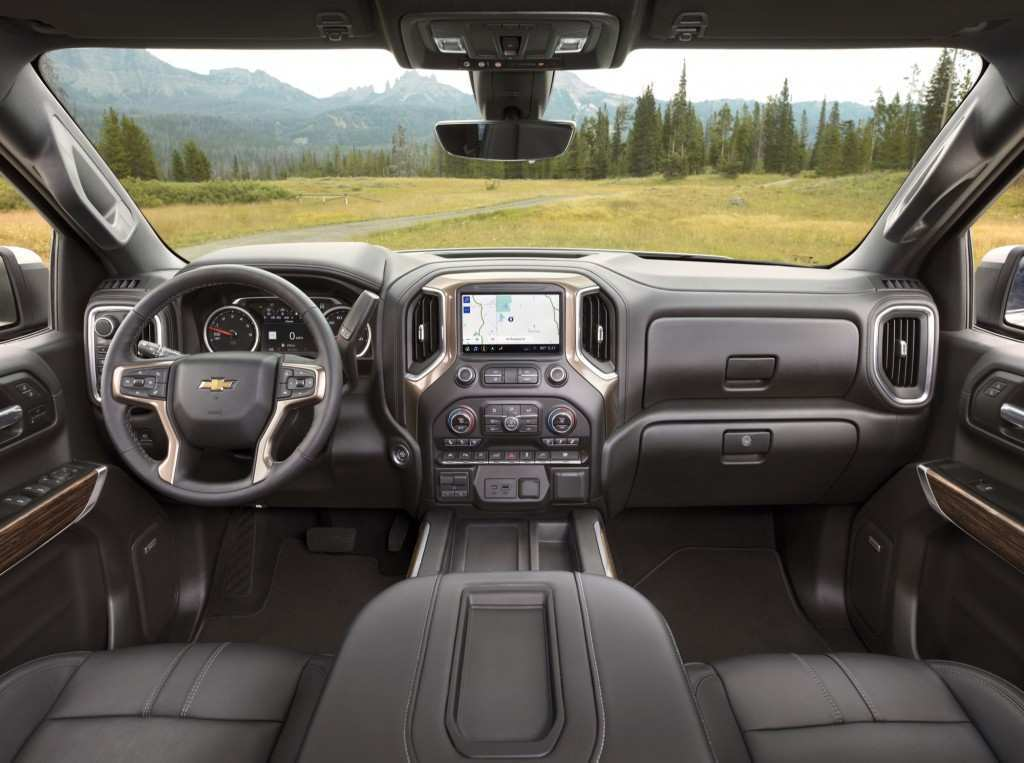 30 The 2019 Chevrolet High Country Interior Photos
