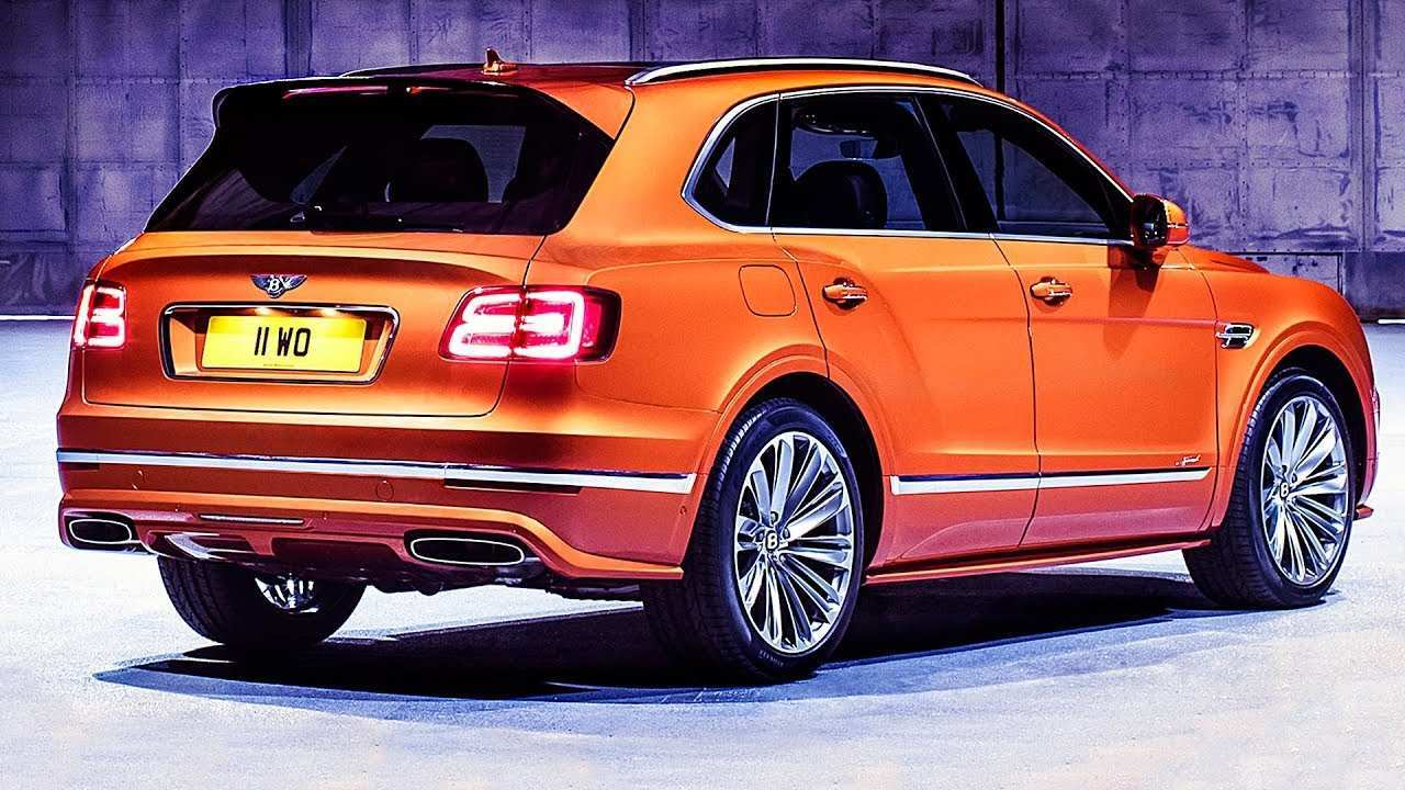 31 The Best 2020 Bentley Suv Redesign