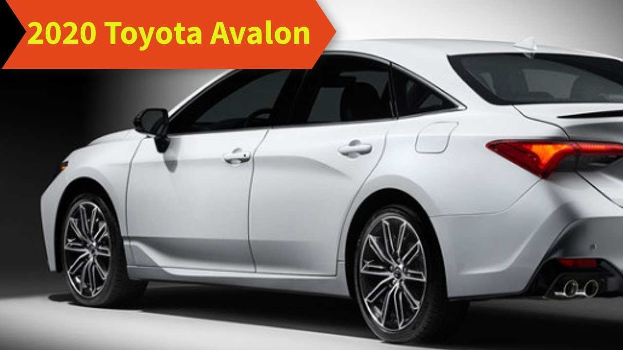 32 All New 2020 Toyota Avalon Redesign Concept And Review
