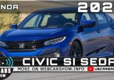 2020 Honda Civic Si Sedan,