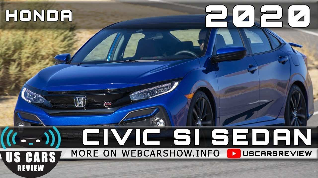 32 New 2020 Honda Civic Si Sedan First Drive