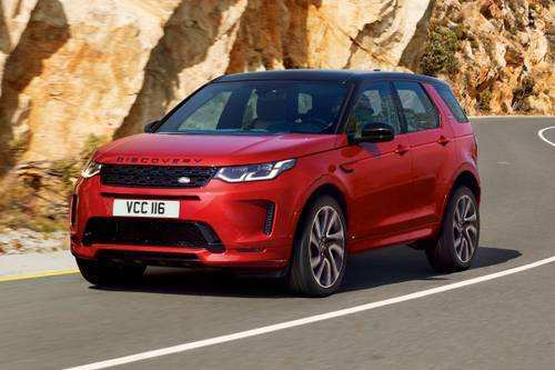 32 The 2020 Land Rover Discovery Sport Exterior