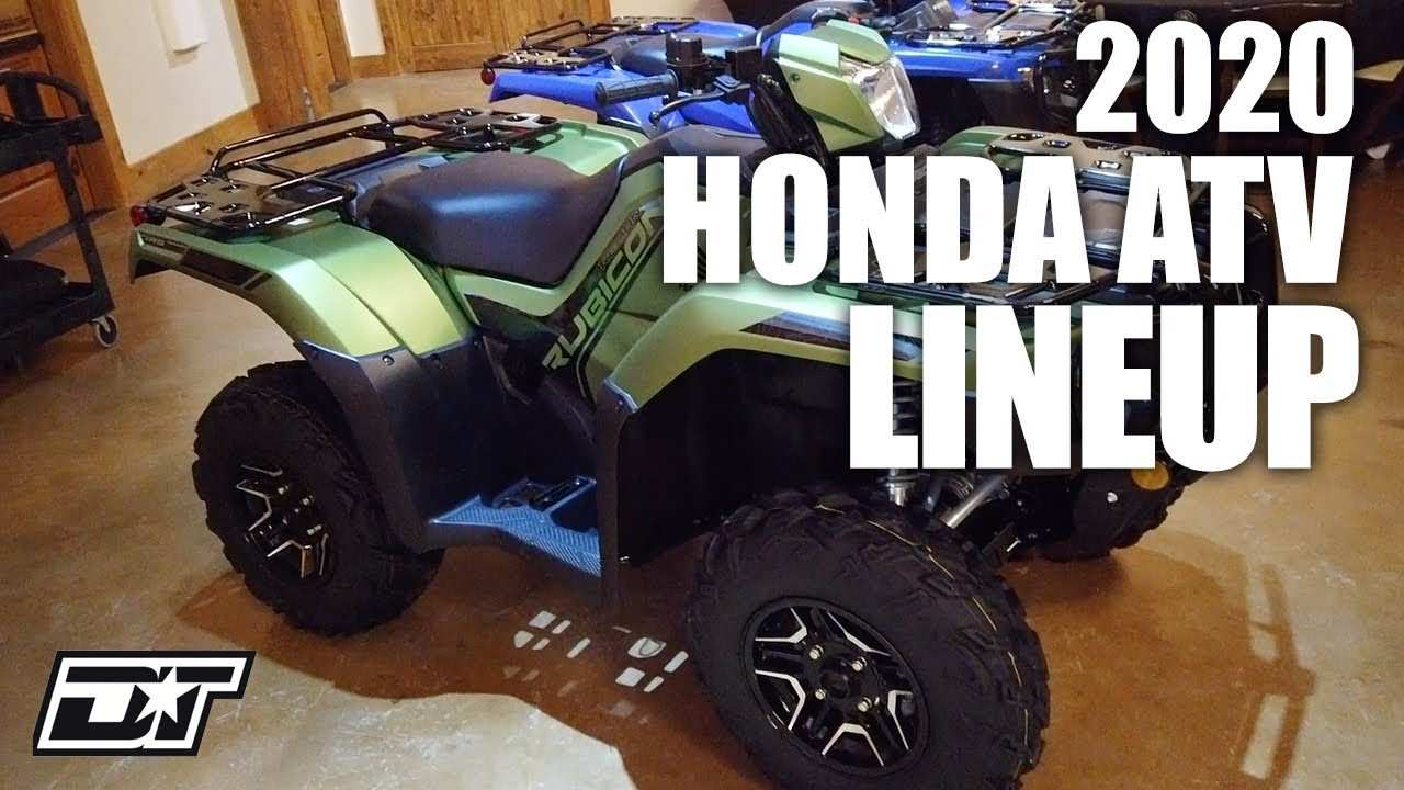 32 The Best Honda Rincon 2020 Price And Release Date