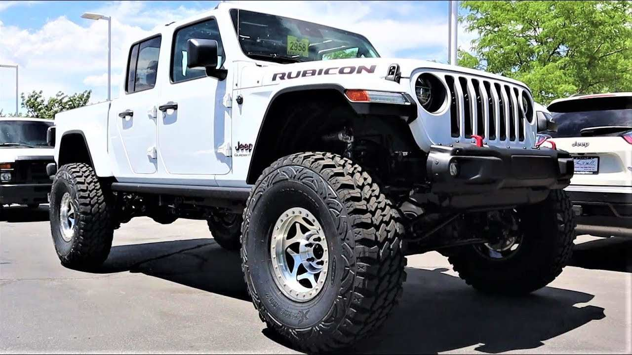 33 All New 2020 Jeep Gladiator Lifted Exterior