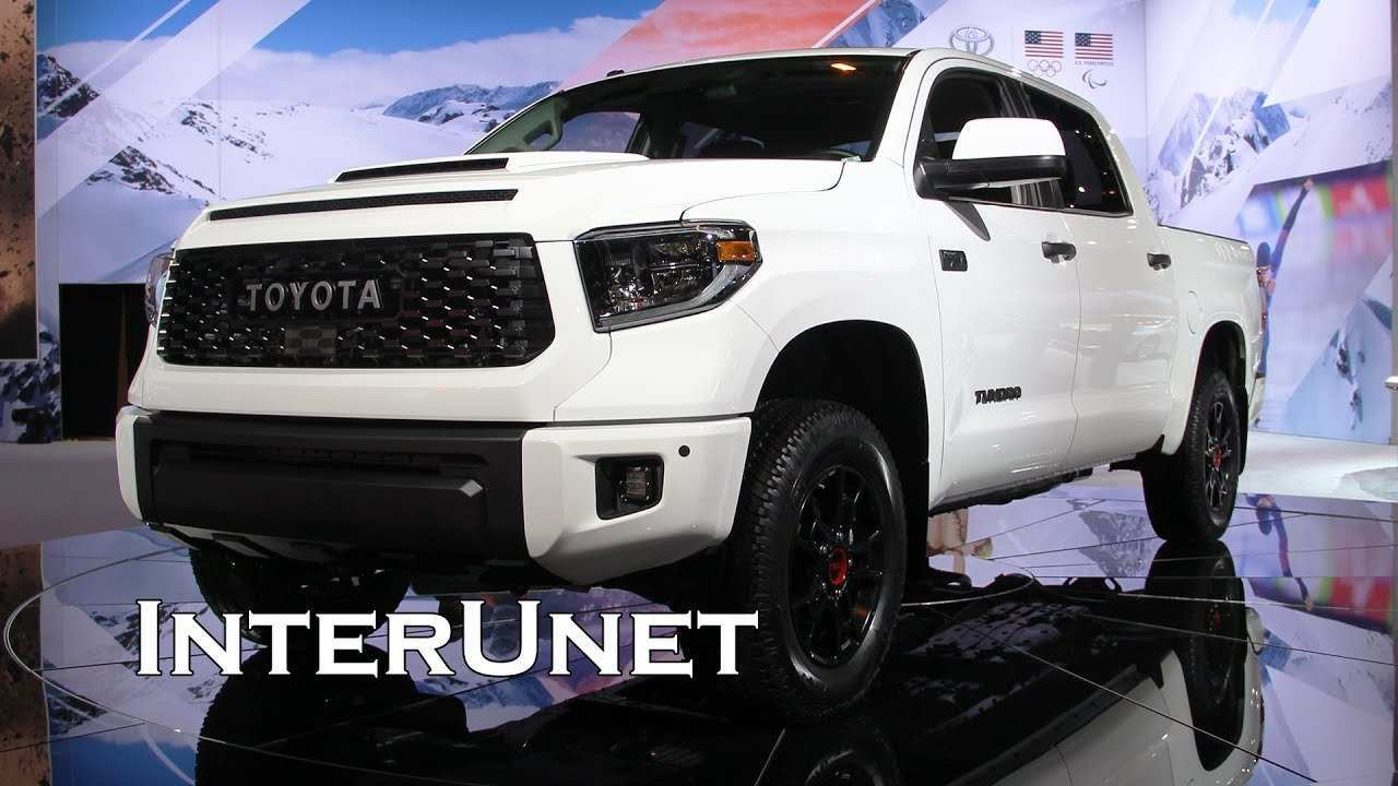 34 A 2019 Toyota Tundra Truck Exterior And Interior