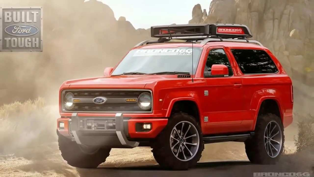 36 All New 2020 Ford Bronco Wiki Exterior And Interior