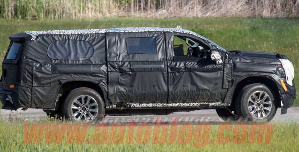 36 New Chevrolet Suburban 2020 Spy Shots Concept