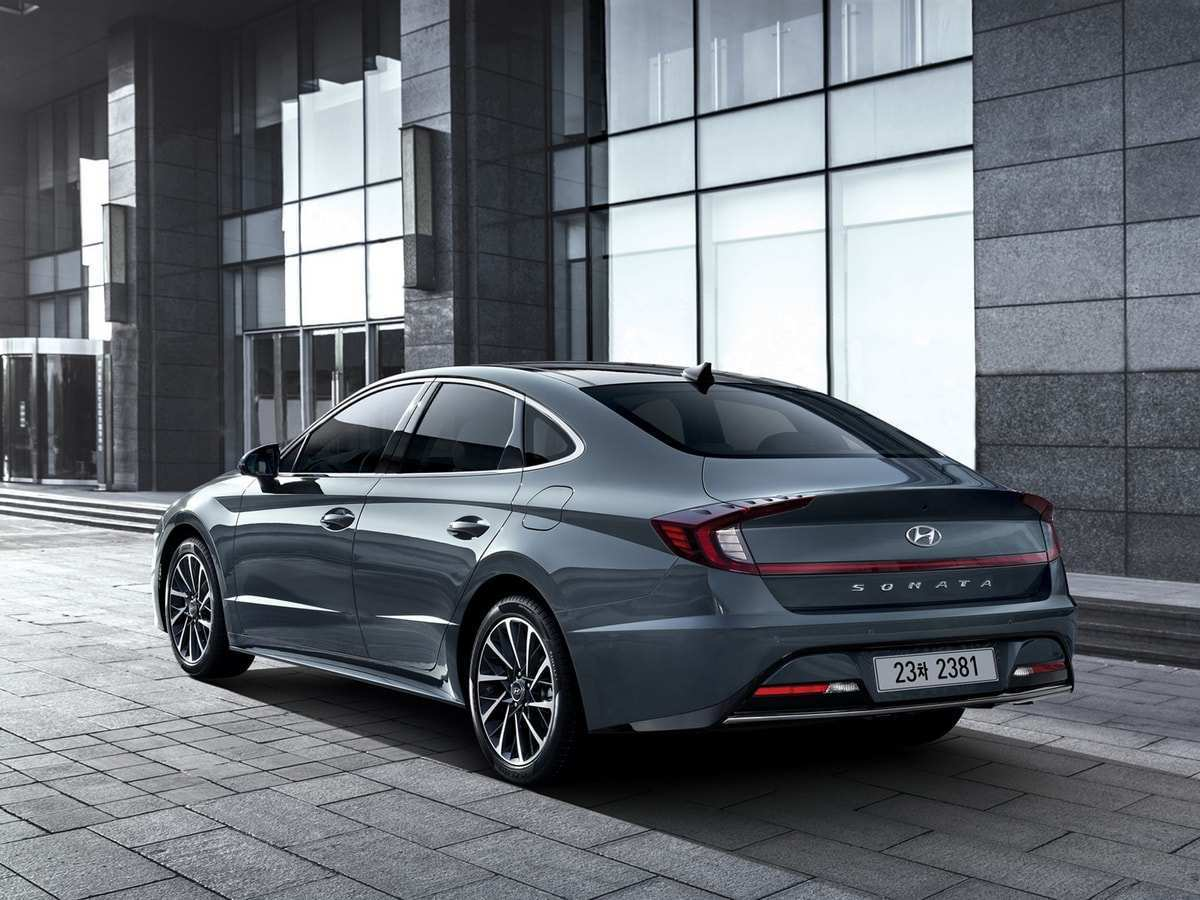 36 The Best Hyundai Sonata 2020 Release Date Model