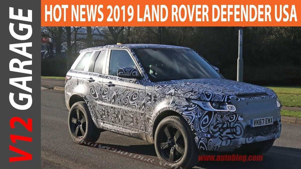 37 A 2019 Land Rover Defender Ute Exterior and Interior