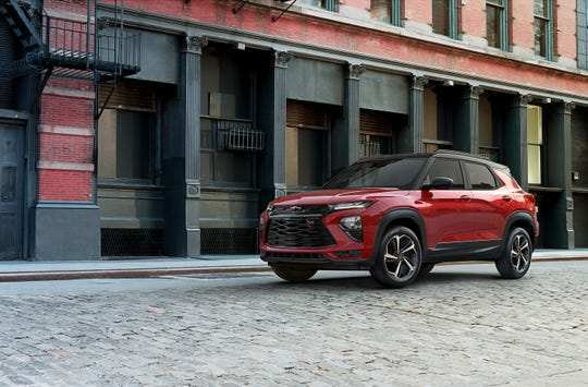 37 Best 2019 Chevrolet Trailblazer Spy Shoot