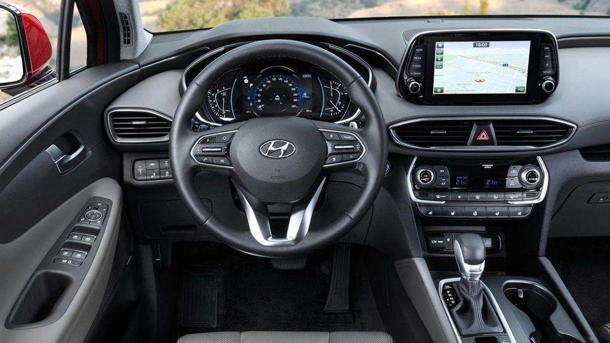 37 The 2019 Hyundai Santa Fe Interior Images
