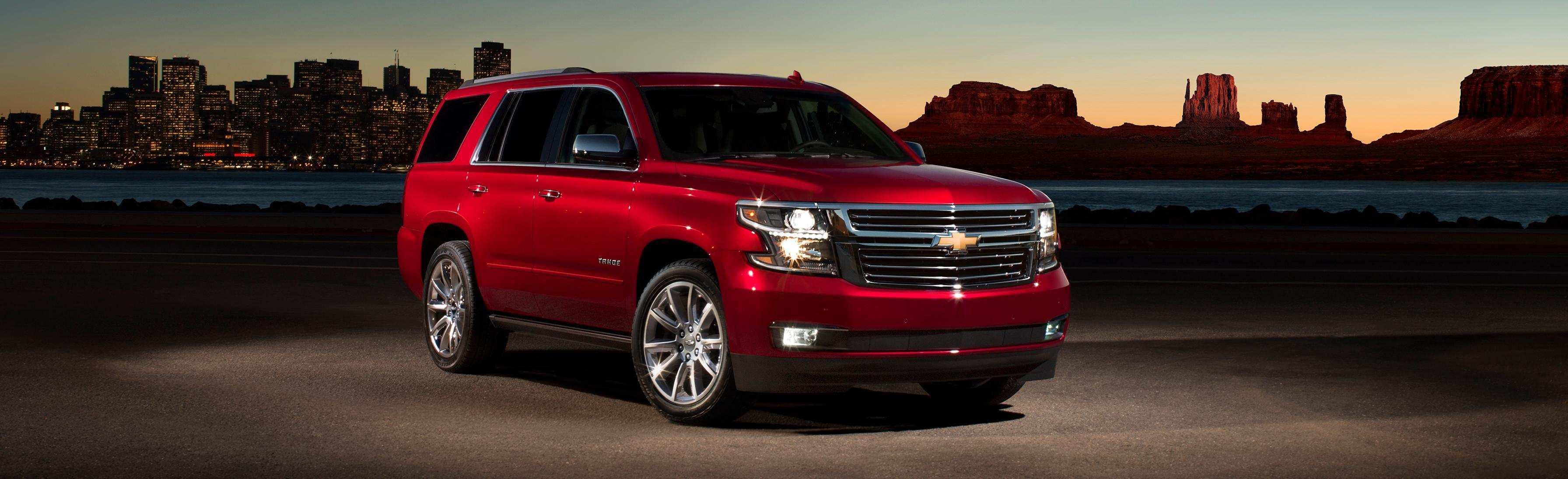 38 A 2019 Chevrolet Tahoe Concept