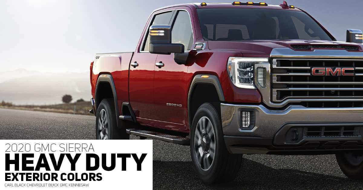 38 All New 2020 Gmc 2500 Release Date New Concept
