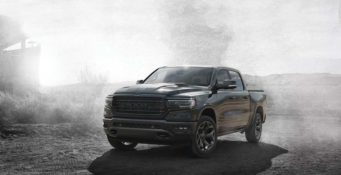 39 A 2020 Dodge Ram Limited First Drive