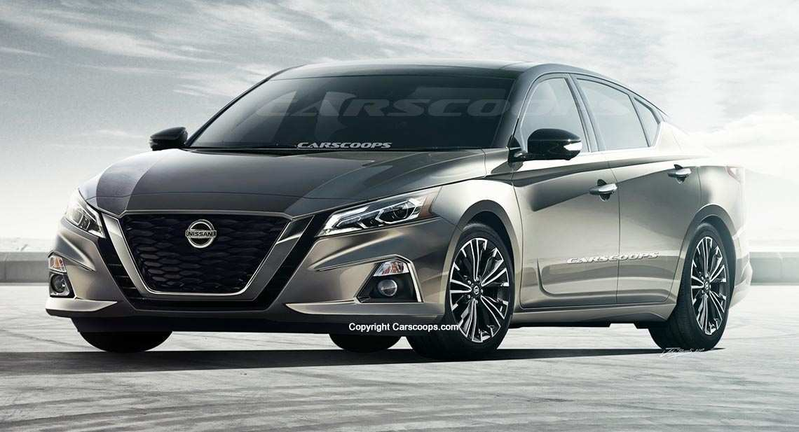 39 All New 2019 Nissan Altima Spy Shots Redesign And Review