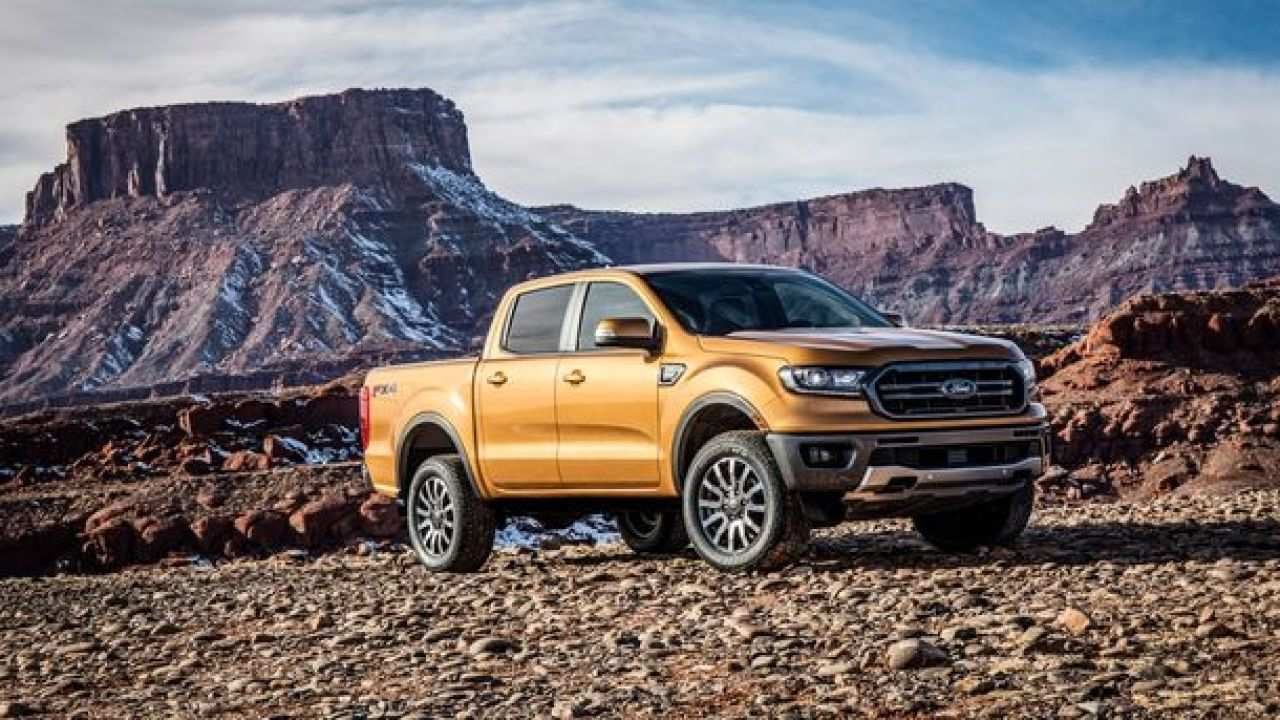 40 A 2019 Ford Ranger Auto Show Images