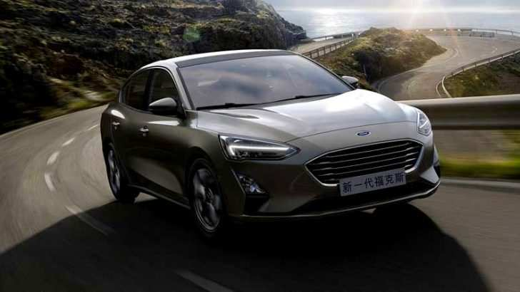 40 All New 2019 Ford Focus Sedan Exterior