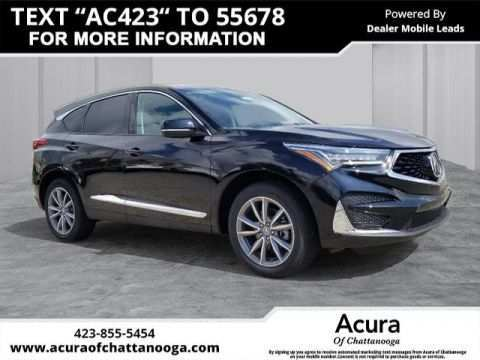 40 The Best 2020 Acura Rdx Advance Package Pricing