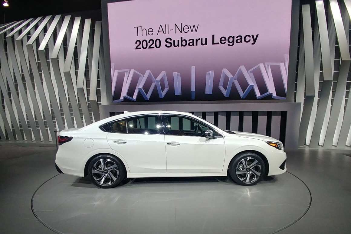 41 The Subaru New Legacy 2020 Redesign And Review