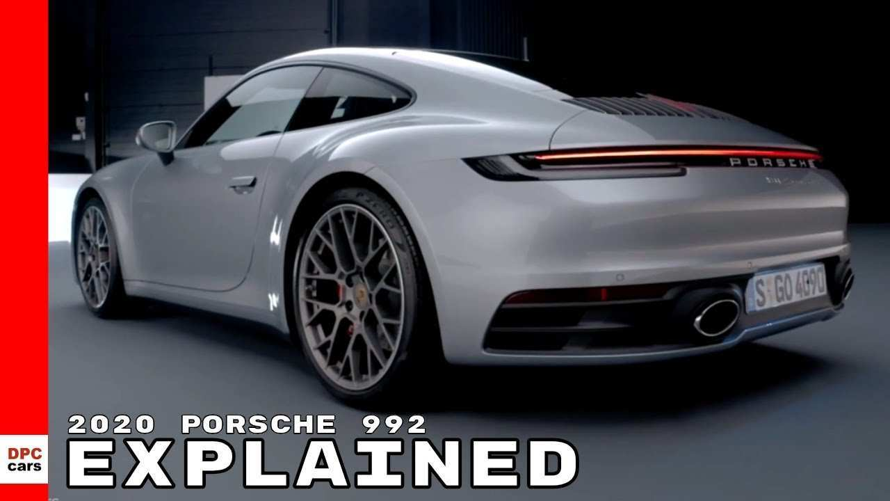 43 A 2020 Porsche 992 Speed Test