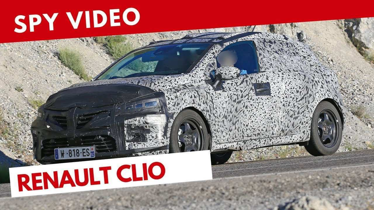 43 All New Renault Clio 2019 Spy Pictures