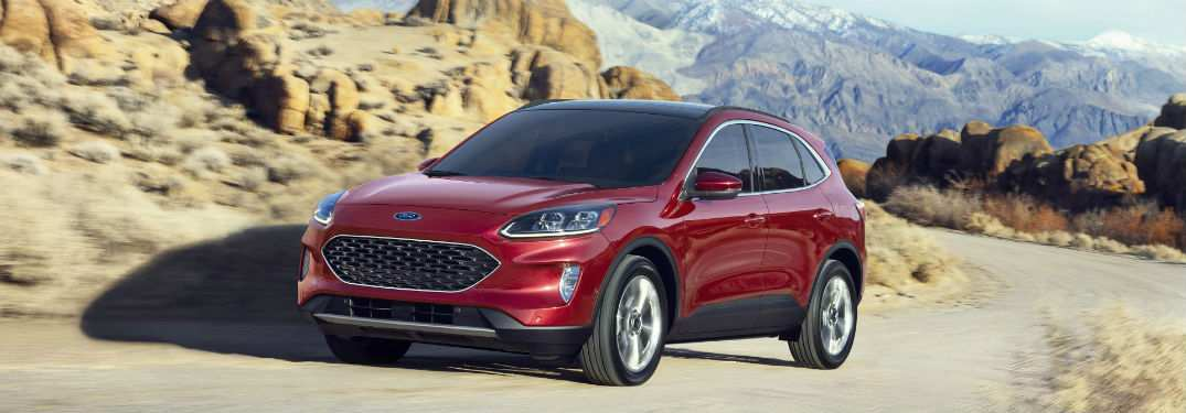 44 Best 2019 Ford Escape Release Date First Drive