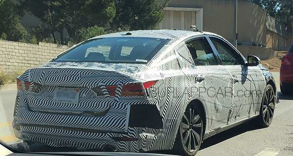 44 The Best 2019 Nissan Altima Spy Shots Ratings