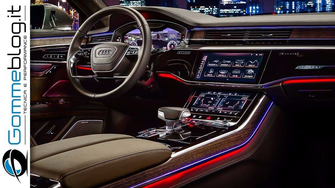 45 The 2019 Audi A8 Features Spy Shoot