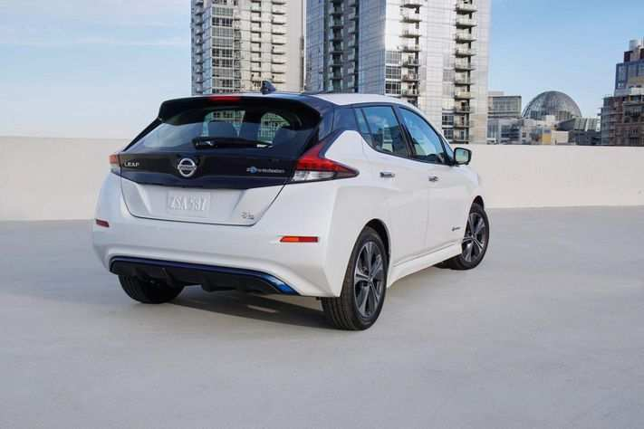 46 All New 2020 Nissan Leaf Range Release Date And Concept