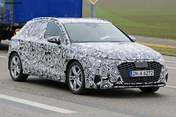 46 All New Audi Zukunft 2020 Spy Shoot