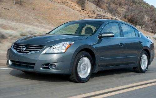 46 All New Nissan Altima Hybrid Wallpaper