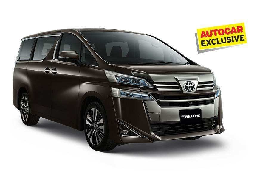 46 New Toyota Vellfire 2020 Price and Review