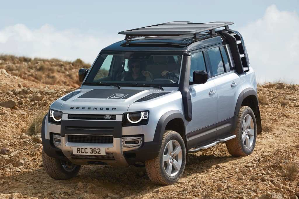 47 A 2019 Land Rover Defender Ute Performance And New Engine