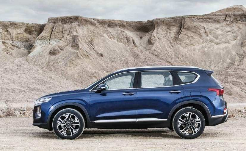 47 All New 2019 Hyundai Santa Fe Launch Spy Shoot