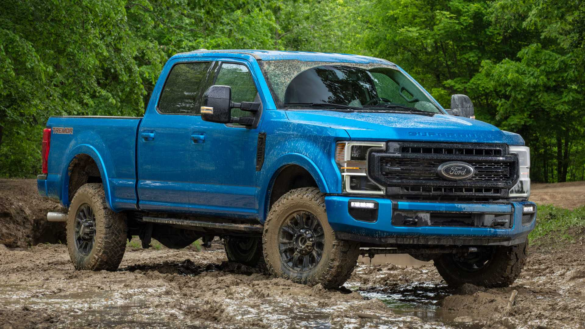 48 A 2020 Ford F350 Super Duty Style