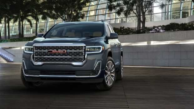 48 A 2020 Gmc Acadia Denali Spy Shoot