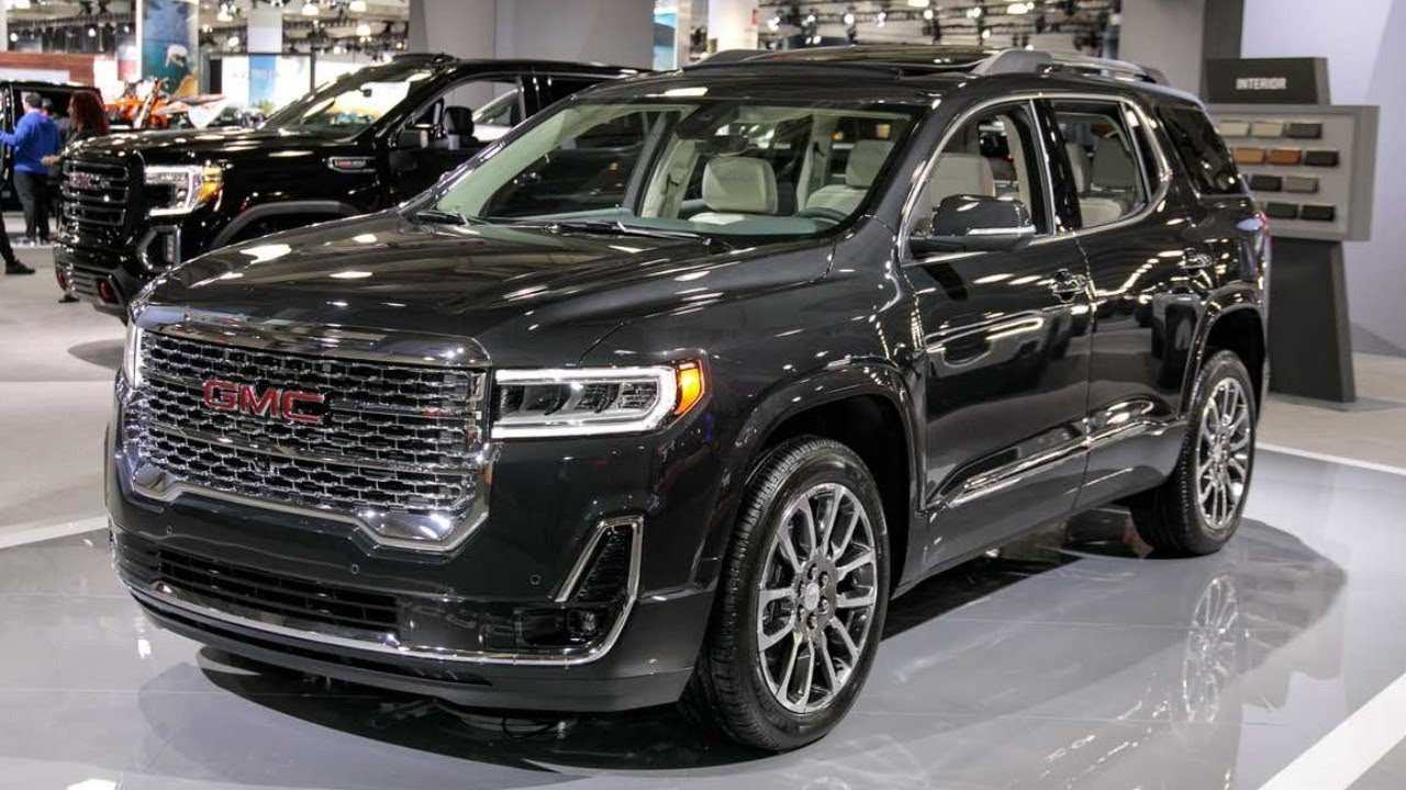48 The Best 2020 Gmc Acadia Denali Style