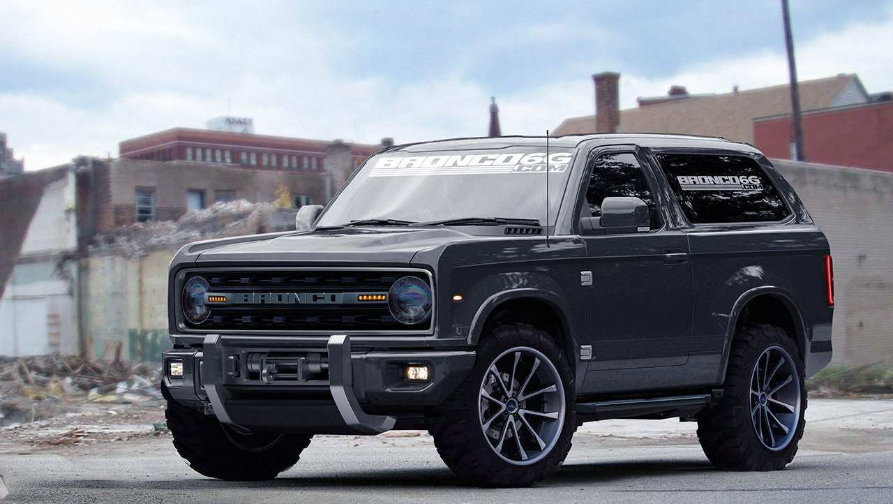 49 A 2019 Ford Bronco 4 Door Photos