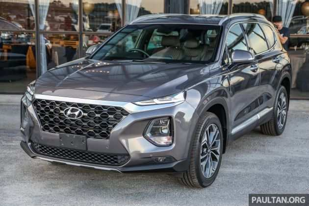 49 All New 2019 Hyundai Santa Fe Launch Interior