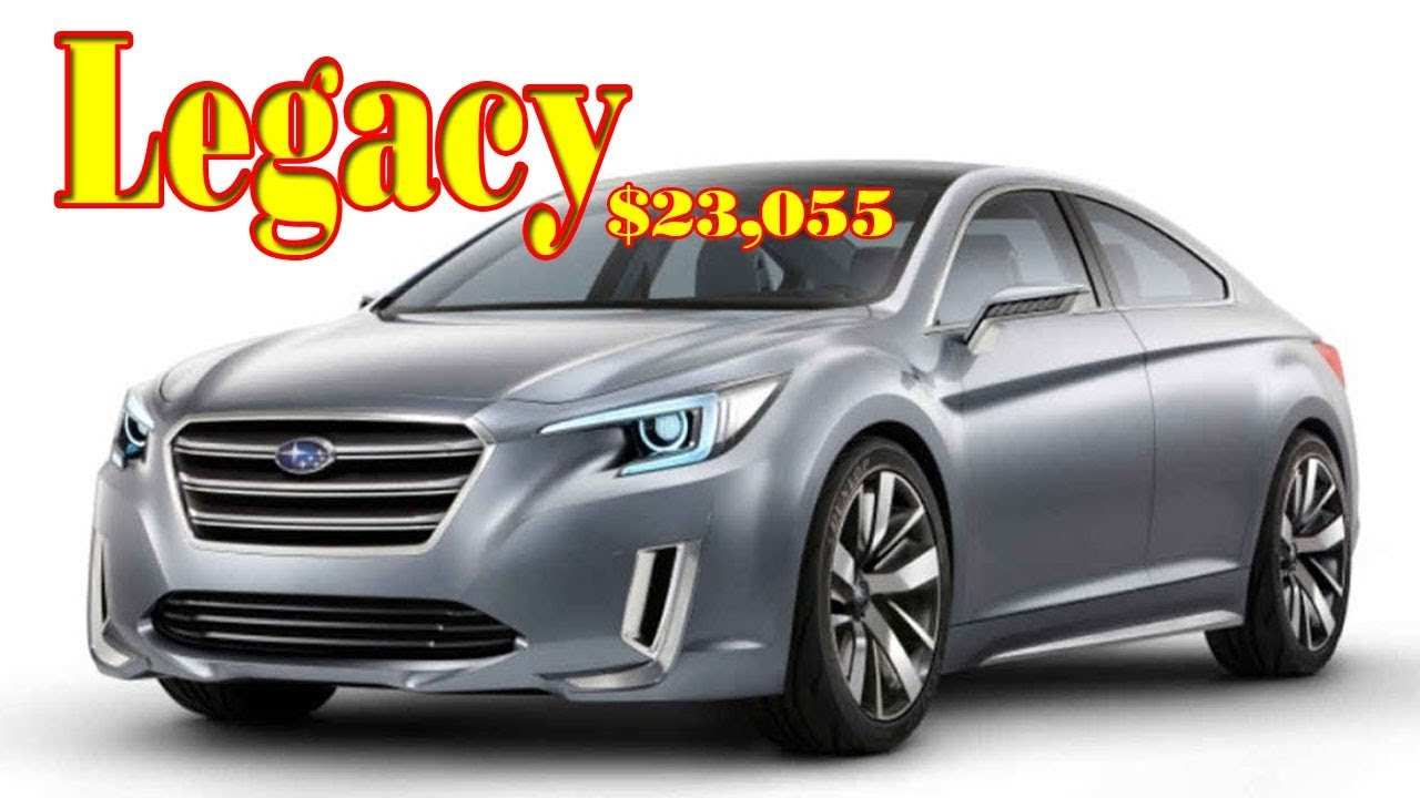 49 Best 2019 Subaru Legacy Turbo Gt Price And Release Date
