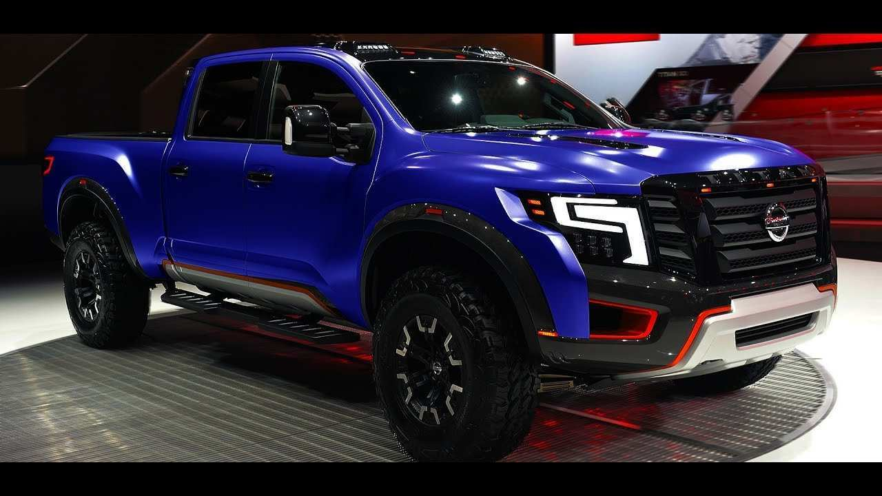 50 The Best 2020 Nissan Titan Warrior Price Review And Release Date