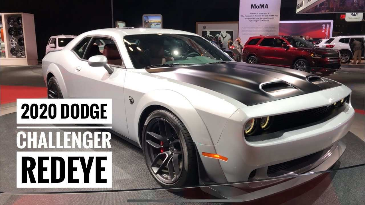 51 The Best 2020 Dodge Challenger Red Eye Images