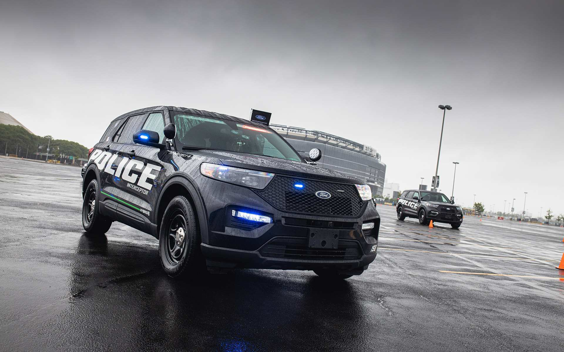 54 A 2020 Ford Police Interceptor Pictures