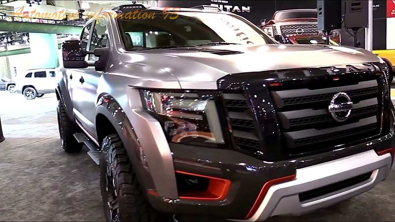 54 All New 2020 Nissan Titan Warrior Price New Review